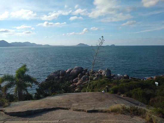 Florianopolis, SC: Praia Guarda do Embaú - Florianópolis