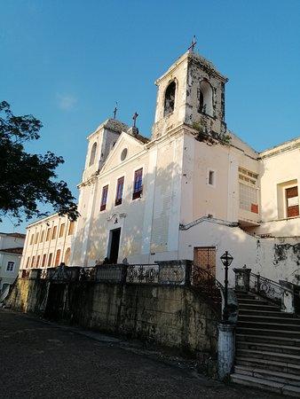 Sao Luis, MA: Fachada de la iglesia