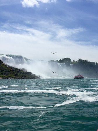 ‪‪Luxury Small-Group Niagara Falls Day Tour from Toronto with Hornblower Cruise‬: American Falls‬