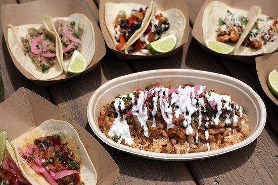 Tacos and Burrito Bowl