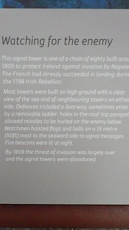 Signal Tower Plaque
