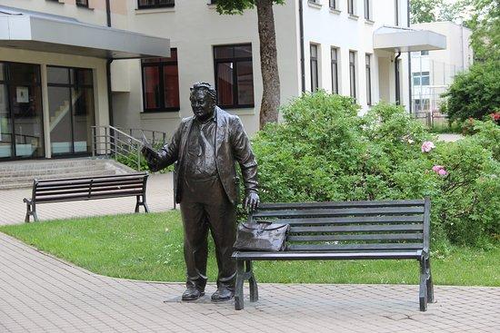 Rezekne, Letonija: Памятник Антону Кукойсу