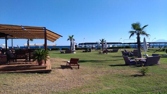 Kadriye, تركيا: Belek-Serik-Antalya-Kadriye Beach Park Plaj'ı