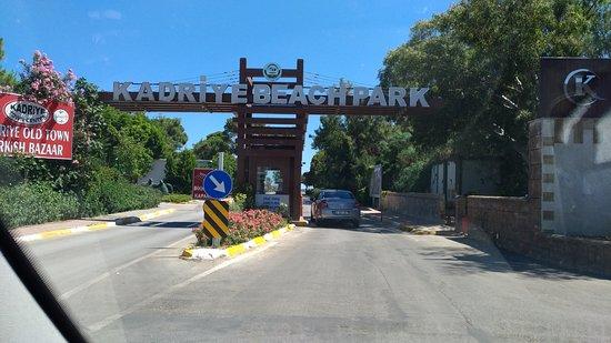 אנטליה, טורקיה: Kadriye Beach Park Serik