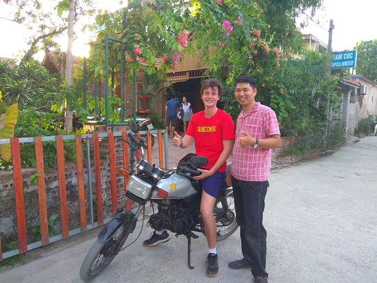 Ninh Thang, เวียดนาม: Thanks for using our motorbike rental service!  Honda win 120cc