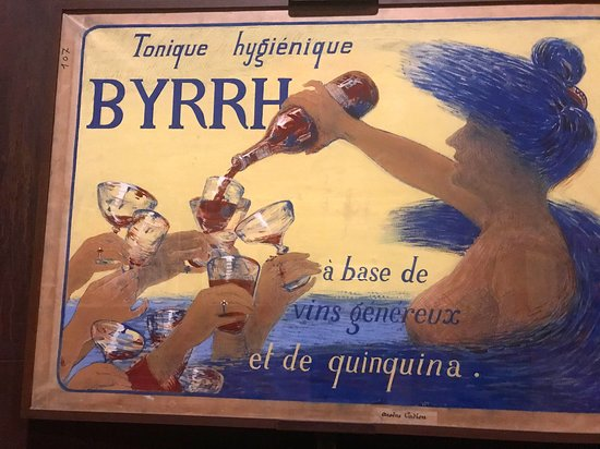 One of many poster ads for Byrrh