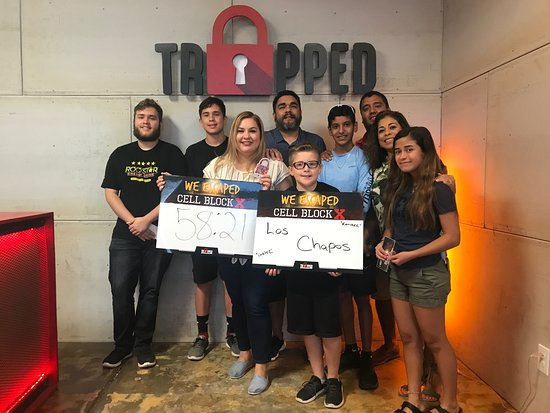 ‪Trapped RGV Escape Rooms‬