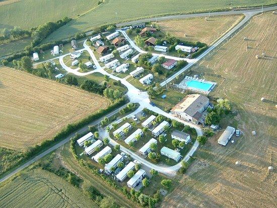 Lévignac-de-Guyenne, France : Sky view