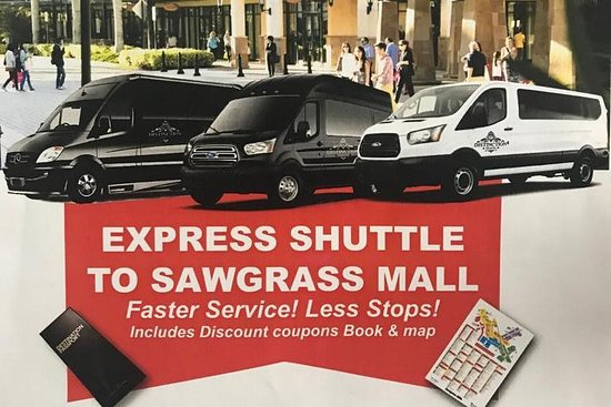‪Sawgrass Mills Mall transfers - Distinction Travel‬