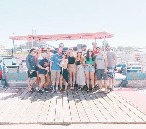 Detroit Cycle Boat: Sunday Funday