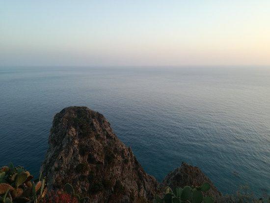 Military lighthouse: Panorama