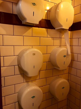 The Salt House Bar: ladies room! you'll never be stranded!