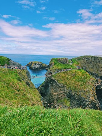 Giant's Causeway and Carrick-a-Rede Rope Bridge Day Trip from Dublin: The Carrick-a-Rede Rope Bridge