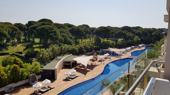 Maxx Royal Belek Golf & Spa: Terrace pool, view from our terrace suite