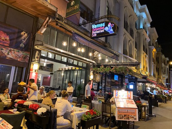 vamos estanbul - Vamos Estambul Cafe & Restaurant, İstanbul Resmi -  Tripadvisor