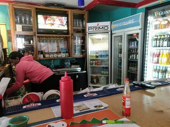 Beverley's Kitchen: Behind the bar