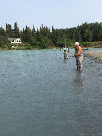 fishing on the Kasilof River