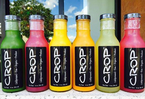 100% organic, raw, cold pressed juice!