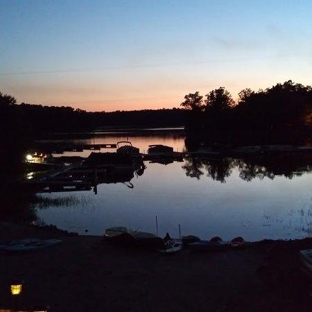 Creal Springs, IL: the lake at Dusk