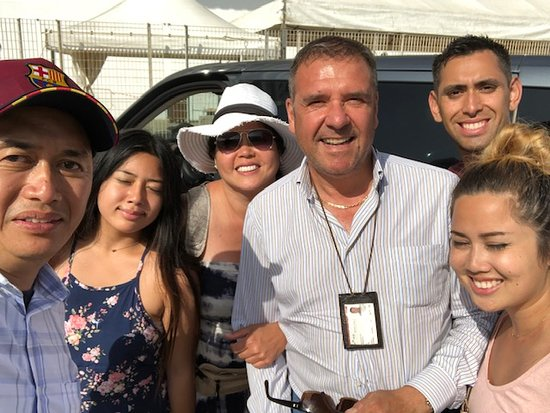 Discovery Tours Limousine Service Day Tours: Civitavecchia Port with Family and Gilberto