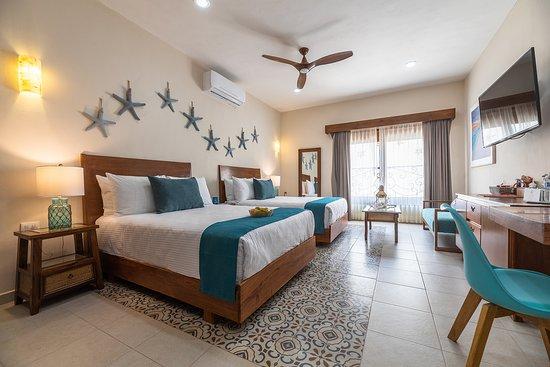 Isla mujeres - Habitación Master suite doble matrimonial