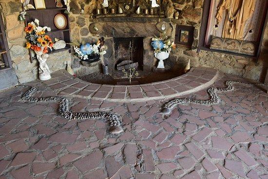 Mystery Castle: Fireplace