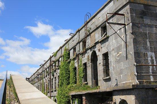 Spike Island: Budynek A dawne więzienie