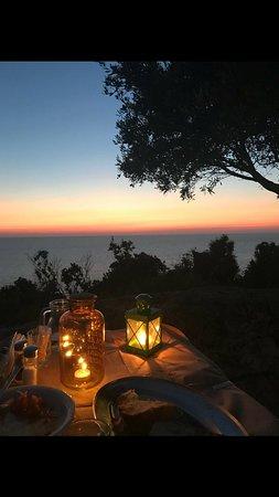 Kaminarata, Hellas: Unforgettable sunset