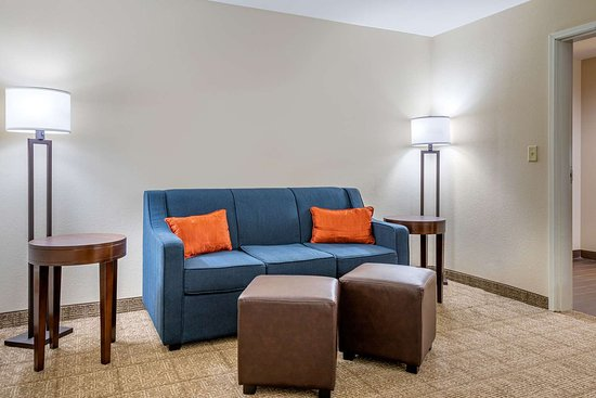 Comfort Suites Gateway: Guest room with king bed(s)