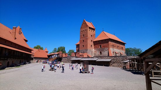 Trakai Island Castle Museum: inside the walls of the castle