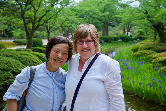 Kenroku-en Garden with Nozomi