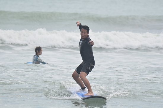 It's all about the fun surfing