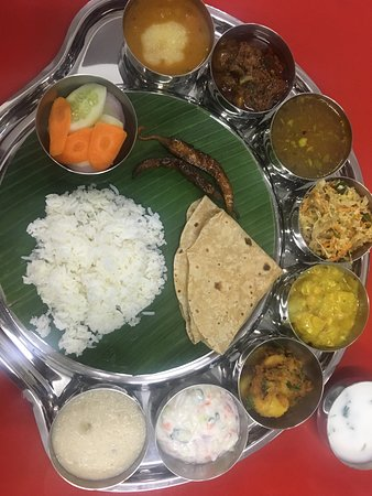 Vegetables Meals Thali