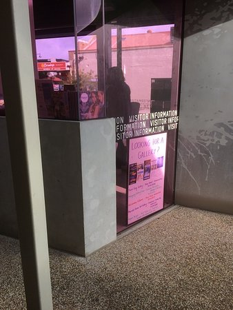 The Back Of The Visitor Information Center
