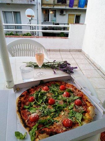 Dinner on my terrace