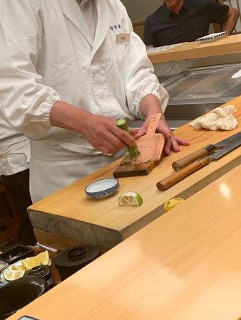 Ginza Sushiko Honten: Fresh Wasabi