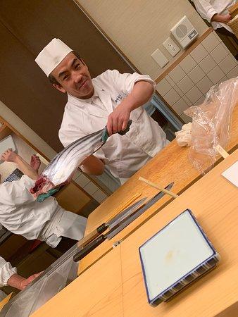 Ginza Sushiko Honten: Chef