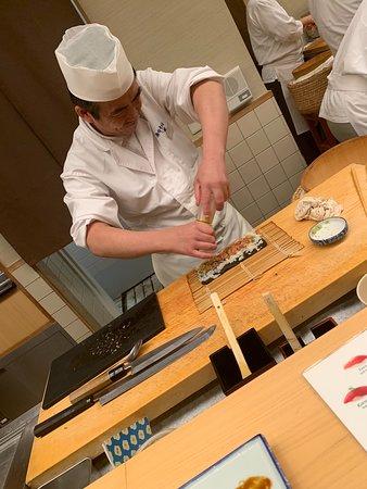 Ginza Sushiko Honten: Preparing