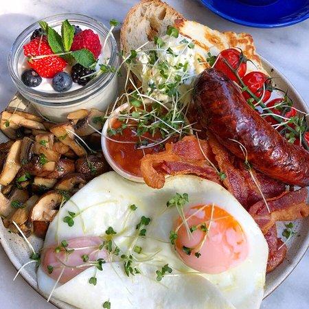 Sunny Veggie Breakfast Served Saturday - Sunday 10am to 1pm