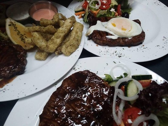 Prince Alfred Hamlet, Zuid-Afrika: Steaks grilled to perfection