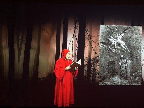 Dantocchio - multimedia museum experience