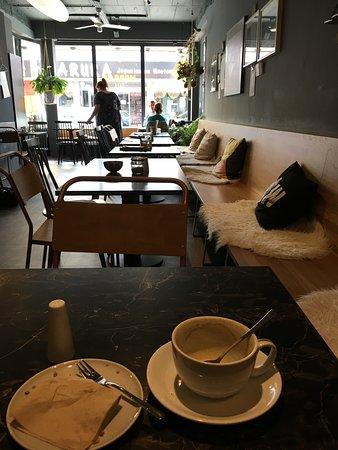 Guter Kaffee, schönes Ambiente..