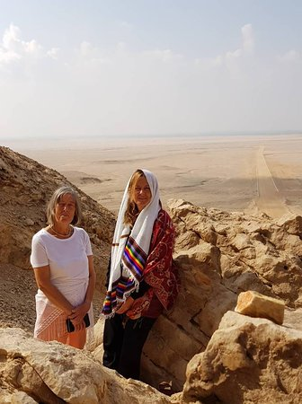 Tell el-Amarna: Overlooking TelAmarna from the East Stele . .such a mysterious place ..