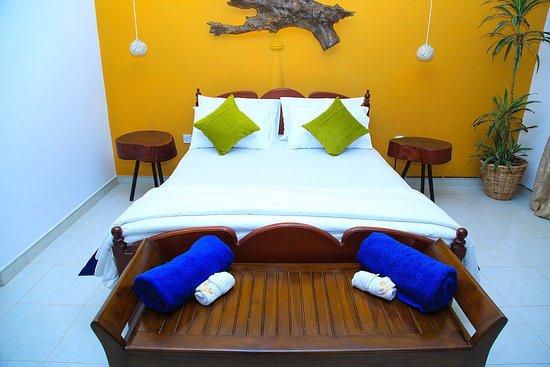 Madampe, Sri Lanka: Deluxe room at the Villa Thalkatuwa