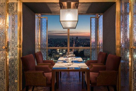 Restaurante Kayla: Box para 4 personas con vista a la Ciudad