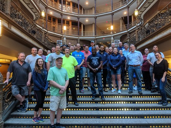 Tours of Cleveland, LLC: Great group from Nestle visiting Cleveland.