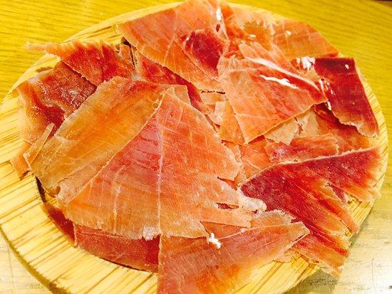 Charcoal cuisine Spanish bar Mon‐Rico: ハモンセラーノ~スペイン生ハム~