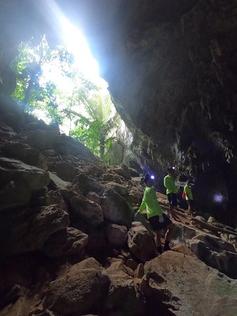 Amazing tour with Greenland tours in Ruc Mon Cave. Thai is really an amazing guide. We spend a lot of hours between caving, hiking, kayaking and swimming. Those tree guys made our day!