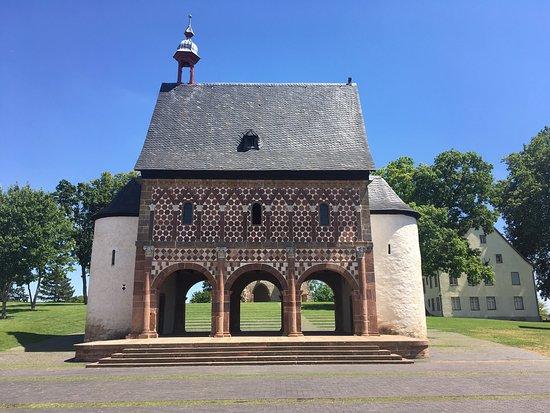 Besuch des herrlichen Weltkulturerbes Kloster Lorsch!