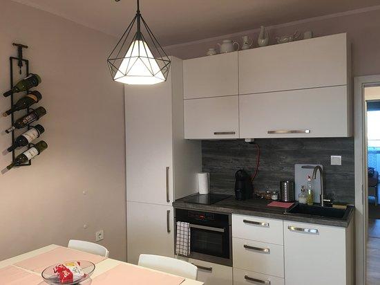 Kitchenette at Spicy Sofia Apartment